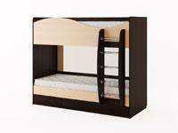 Кровать двухъярусная с ящиками (без матраса)