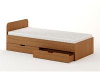 Кровать с ящиками (ширина 900 мм)