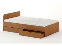 Кровать с ящиками (ширина 1200 мм)