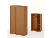 Шкаф распашной 3-х створчатый Рамочный